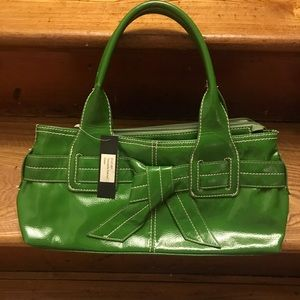 Green Patent Leather Purse